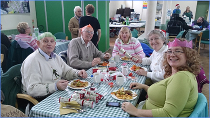 Christmas Lunch at Bassetlaw Action Centre