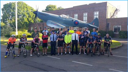 Bike ride From RAF Benson to Yeovilton