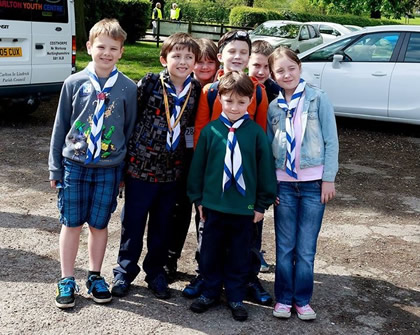 St Annes Scout Group Worksop, May 2015