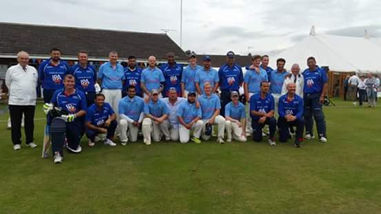Retford Cricket Club team group photo