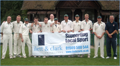 Clumber Park Cricket Club team photo