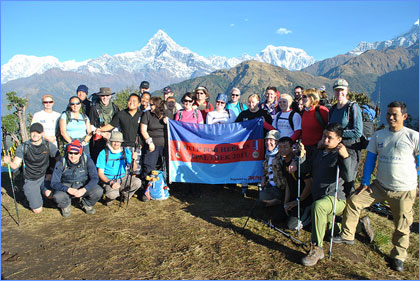Jane Harries Help for Heroes Nepal Trek