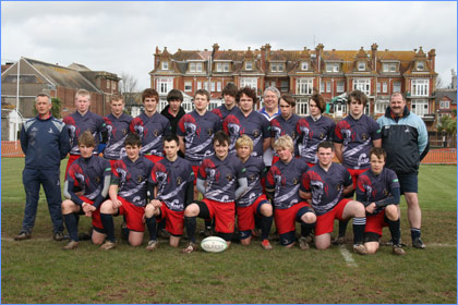 Newark Rugby Union Football Club Under 17s Devon Easter Tour