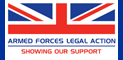 Armed Forces Legal Action logo